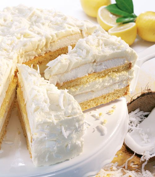 Torten-Rezepte: Schnee-Torte - Wohnen und Garten Foto