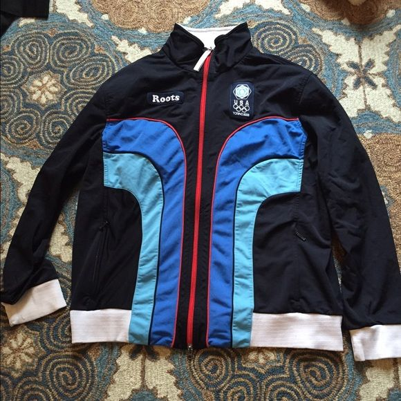 Roots USA zip up Roots USA olympics zip up sweater great condition from 2006 Tops Sweatshirts & Hoodies
