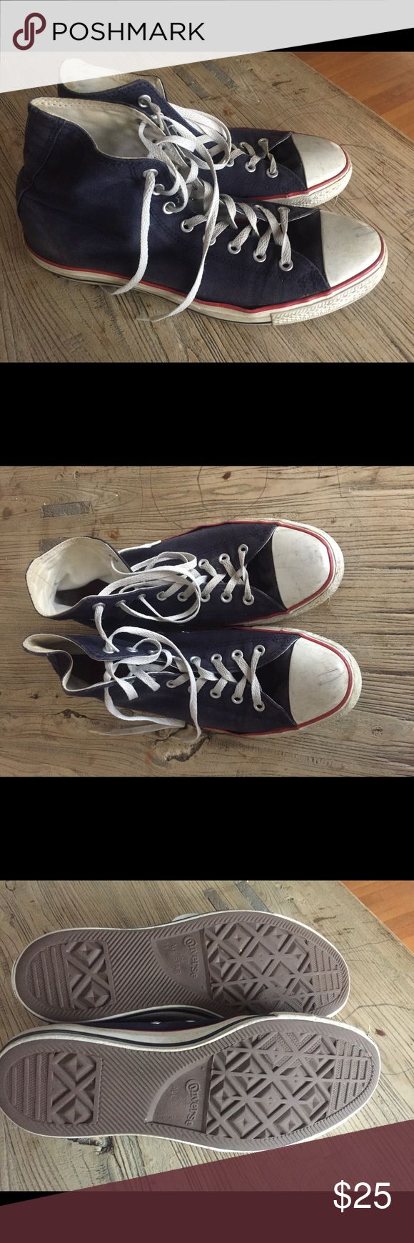 men's converse high tops men's converse high tops size 11 used condition. see pics smoke free home Converse Shoes Sneakers