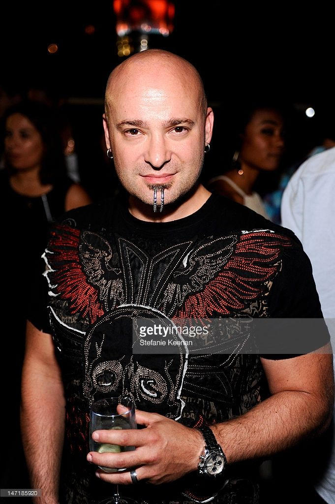 David Draiman attends Spotify Quincy Jones Media Event at Andaz on June 26, 2012 in West Hollywood, California.