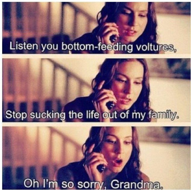 Pretty Little Liars, oh Spence...