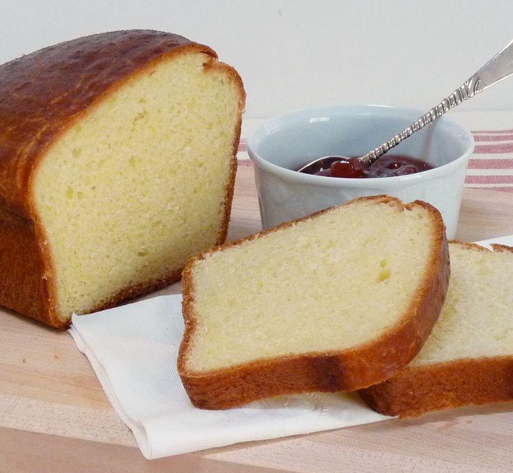 Ina Garten Brioch recipe. Great for making bread pudding!