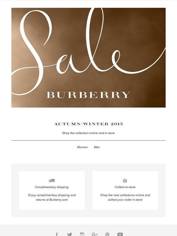 The Burberry Sale - Burberry