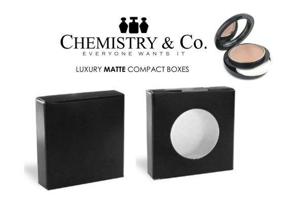 50 Deluxe Empty Compact Foundation Powder Makeup di ChemistryCo