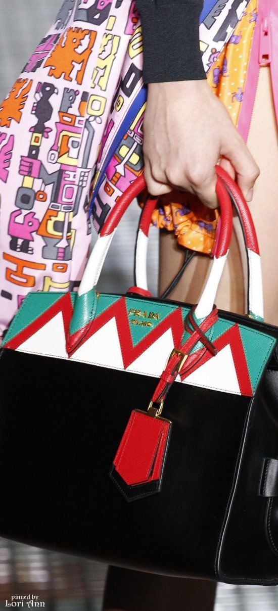 Prada Spring 2017 RTW Women's Handbags Wallets - amzn.to/2huZdIM Clothing, Shoes & Jewelry : Women : Handbags & Wallets :