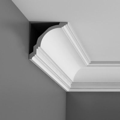 Orac Axxent have created a budget range of lightweight covings, cornices, dado rails and wall mouldings. Easy to install making them the perfect choice for both trade and DIY installers