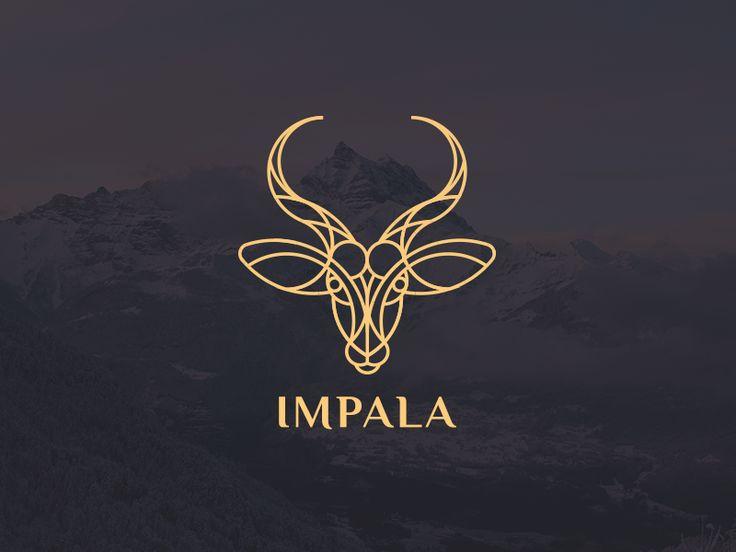Dribbble - Impala logo by Artyom Khamitov