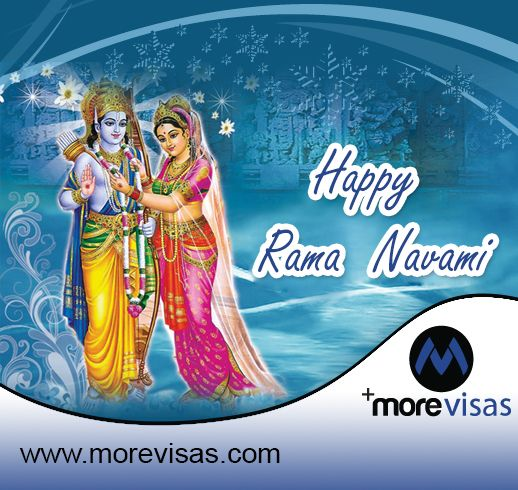 #MoreVisas wishes Happy Ram Navami to you and your family...