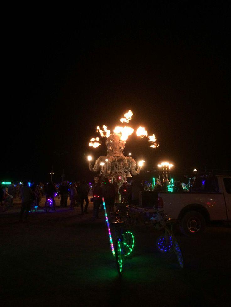 2016 Burning Man at night - Steampunk Octopus    Burning Man Fashion | Burning Man Costume | Burning Man Festival | Burning Man Camping | Burning Man Style | Burning Man Outfits| Burning Man Art | Burning Man Tips | Burning Man DIY | Burning Man Survival | Burning Man Food | Burning Man Photography | Burning Man Sculpture  Burning Man Goggles | Burning Man Makeup | Burning Man Boots | Burning Man Gifts | Burning Man Tent