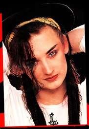 boy george culture club throw talking hair bands 80s