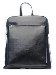 Рюкзак Elite Style  Стильный и современный рюкзак трансформер это отличное решение на каждый день. Такой аксессуар можно использовать в качестве сумки через плечо. Поэтому он отлично сочетается с любым образом который выбирает его обладательница. Чтобы мелкие атрибуты не затерялись в недрах рюкзака в нем имеются карманы открытого и закрытого типа. Закрывается аксессуар на молнию. Модель пошита из натуральной кожи лямки рюкзака выполнены из кожи на тканевой основе что очень практично. Жесткий…