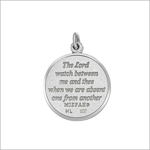 22 best mizpah pendants images on pinterest anchor anchors and mizpah blessing silver charm necklace looking for a perfect charm for the perfect love aloadofball Image collections