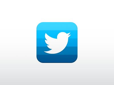 Dribbble - my concept Twitter iOS icon by Di Zaborskih