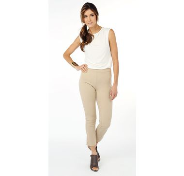 Guillaume Crepe Jersey Cropped Pant