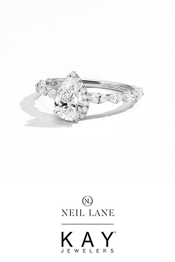 Neil Lane Premiere Diamond Engagement Ring 1 1 2 Ct Tw 14k Gold Kay In 2020 Neil Lane Engagement Rings Turquoise Ring Engagement Trending Engagement Rings