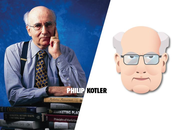 Ilustración de Philip Kotler   www.rootstudio.es