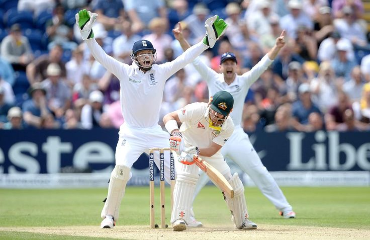 """1st Test, 2015 Ashes: England are playing a very dynamic kind of game with the field placings and the bowling. The second innings saw 4 top-order wickets in 6 overs. In the beginning, """"it took the left-hander [Warner] almost 40 minutes and 25 deliveries to score his first boundary despite the surfeit of England catchers gathered hungrily around the wicket, by which time he had already survived a reviewed shout for lbw and seen his partner Chris Rogers squared up and caught in the slips for…"""