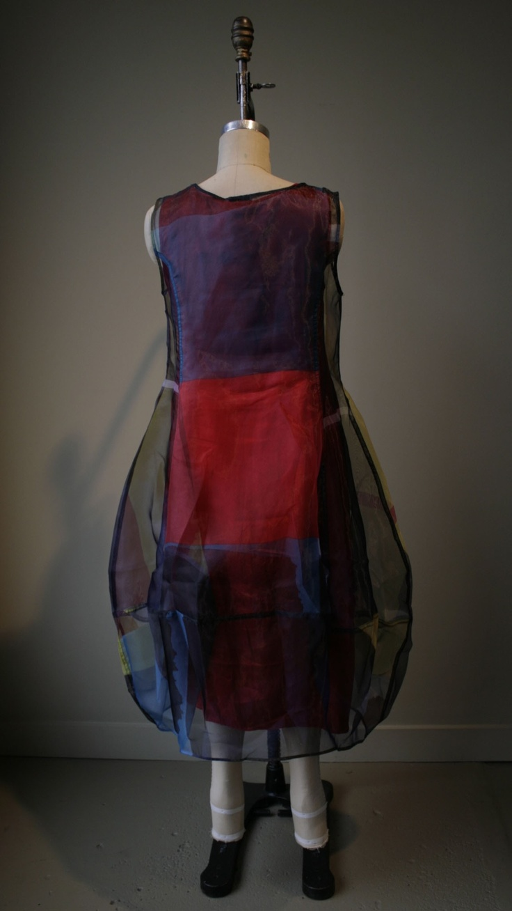 Rundholz - Sheer Dress over Chili Slip Dress. Very you. Maybe not so much very me. But possibilities.
