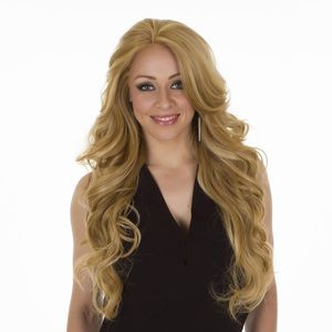 Human Hair Lace Front Claudia Wig | Hair By MissTresses | Long Wavy Style Wig | Side Fringe | Two Shades Available | Buy Online Today | Available Now | Free Shipping Over £75