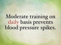 Exercise and High Blood Pressure