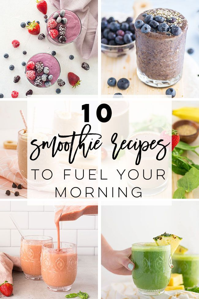 10 Vegan Smoothie Recipes To Fuel Your Morning In 2020 Vegan Smoothie Recipes Smoothie Recipes Healthy Breakfast Morning Smoothie Recipes