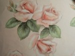 1940's vintage illustration - Pink Rose! From Evelyn's Ephemera saved from the trash.