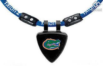 Florida Gators Trion Z Ionic Magnetic Sports Necklace Tag Blue