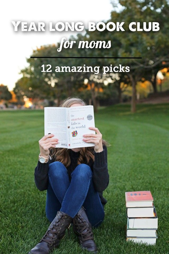 A Year-Long Book Club Plan for Moms- So many awesome picks and such a great range of fiction, parenting, non-fiction, etc.