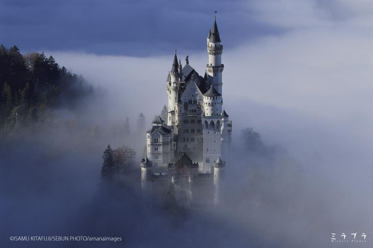 カリフォルニアディズニー「眠れる森の美女の城」のモデルのひとつ ノイシュバンシュタイン城(ドイツ) - ミラプラ(Miracle Planet)『週刊 奇跡の絶景』