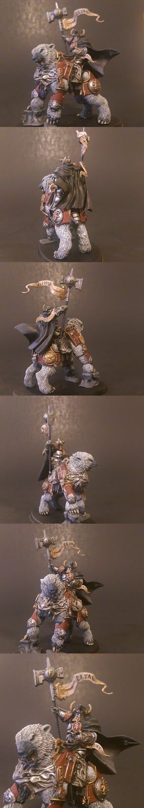 Bits Addiction: Forgesworn Eternals - Lord-Celestant on Dire Bear (Finished!)