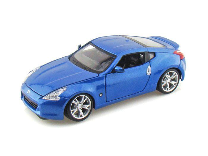 Maisto Special Edition - Nissan 370Z Model Car 1:24 - Blue (31200)  Manufacturer: Maisto Enarxis Code: 018123 #toys #Maisto #miniature #cars #Nissan