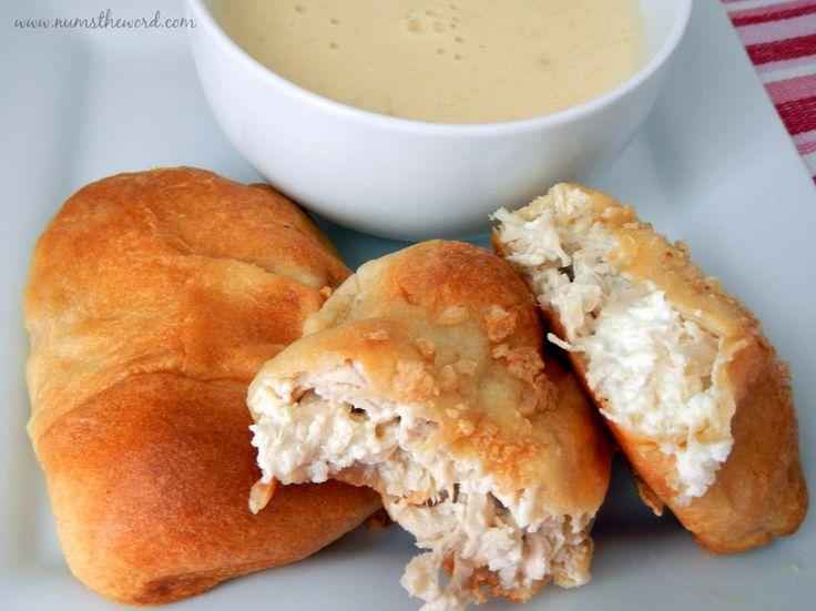 Chicken Cream Cheese Pockets - NumsTheWord
