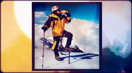 Orlando castro alpinista Salvador delgadillo entrenador 23 de nov. triple ascenso pico de orizaba.