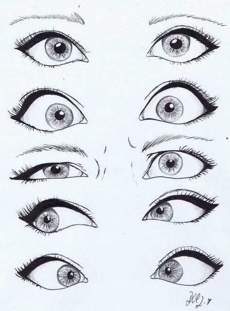 Eyes                                                                                                                                                      Mehr (Drawing Step)