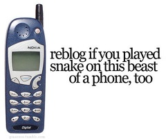 Ahh my first cell phone lol And I was totally amazed that I could play a game on a phone. I played snake alot.