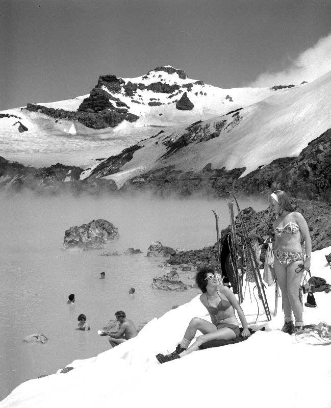 Mt Ruapehu, 1950s
