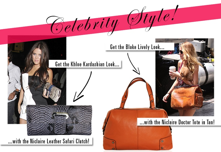 Shop the celeb look now! at www.niclaire.com.au