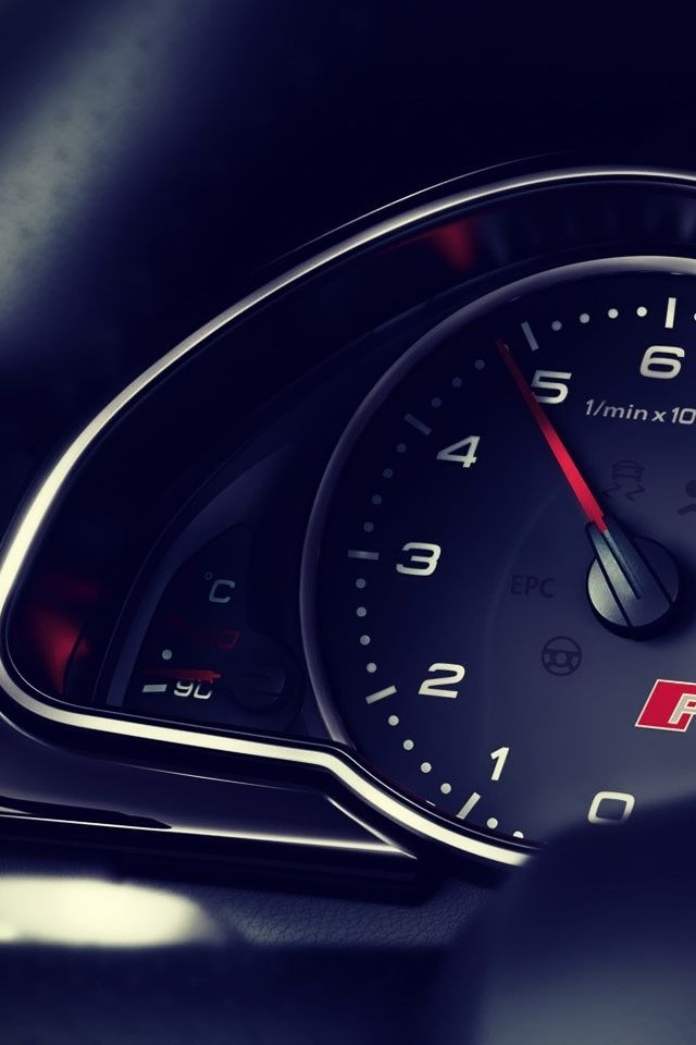 Audi Rs5 Dashboard iPhone 4s Wallpaper iPhone 4s Wallpapers
