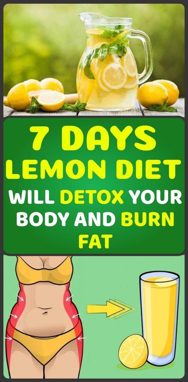 7-Days Lemon Diet Will Detox Your Body and Burn Fat   Diet