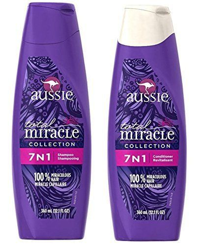 Aussie Total Miracle Shampoo and Conditioner 7 in 1 -- More details can be found by clicking on the image. #hair