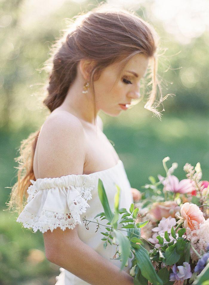 Magical Film Wedding Portraits    #wedding #weddingideas #californiawedding #filmphotography #filmweddingphotography #bohobride #bohemianwedding #weddingdress #bride #braids