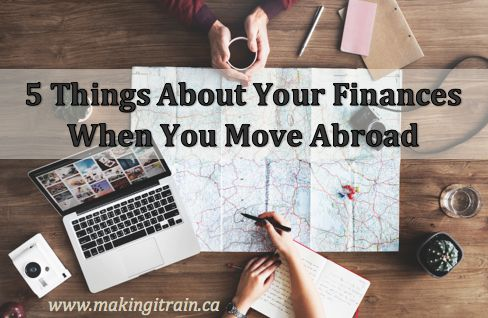When I was offered a job in Thailand in 2010, I only had 24 hours to consider the offer – and I didn't know a thing about moving overseas!  Here are five important things about your finances when you move abroad!