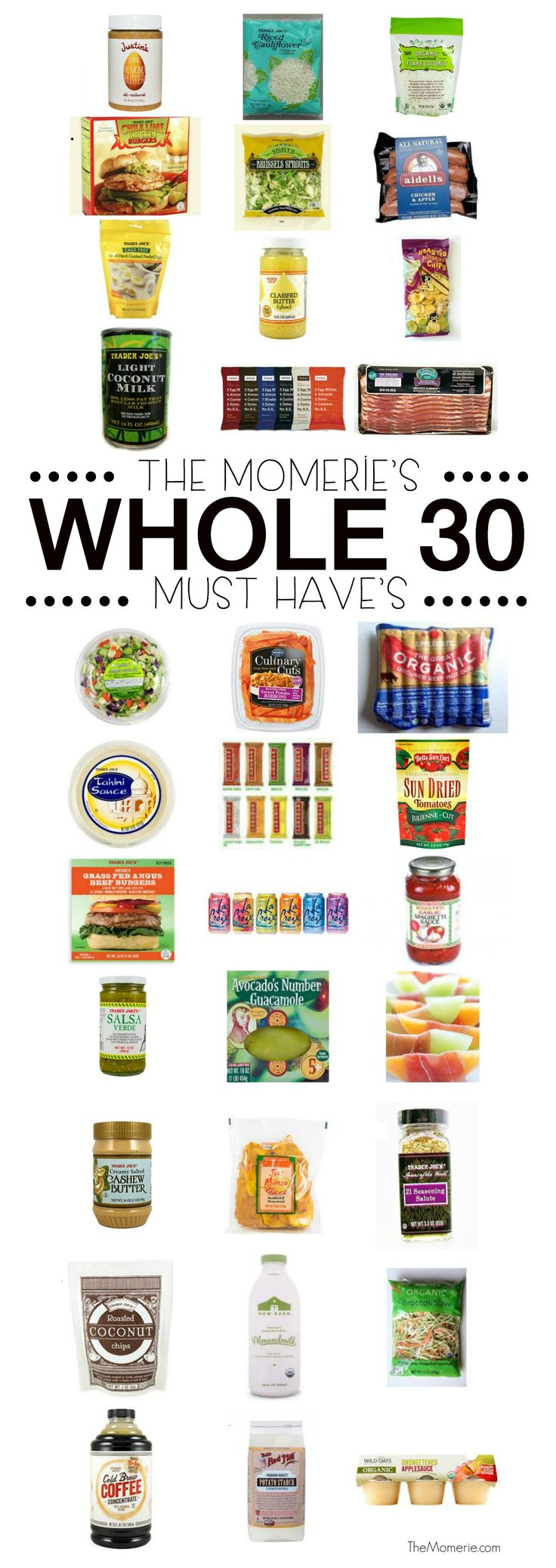 Ultimate List ofWhole30 Must Haves   The Momerie