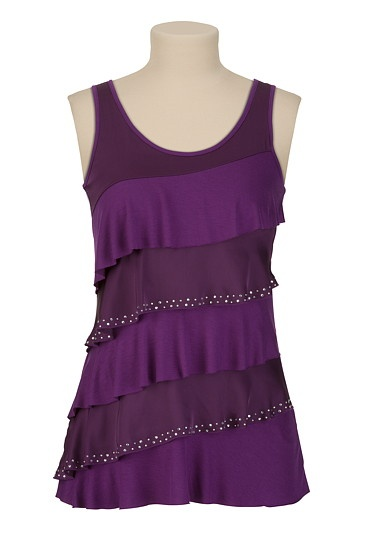 : Mixed Tiered, Mauric Mixed, Finding Trixxi, Maurices Com Trixxi, Fashion Ideas, Purple Tiered, Dreams Closet, Maurices Outfits, Tiered Tanks