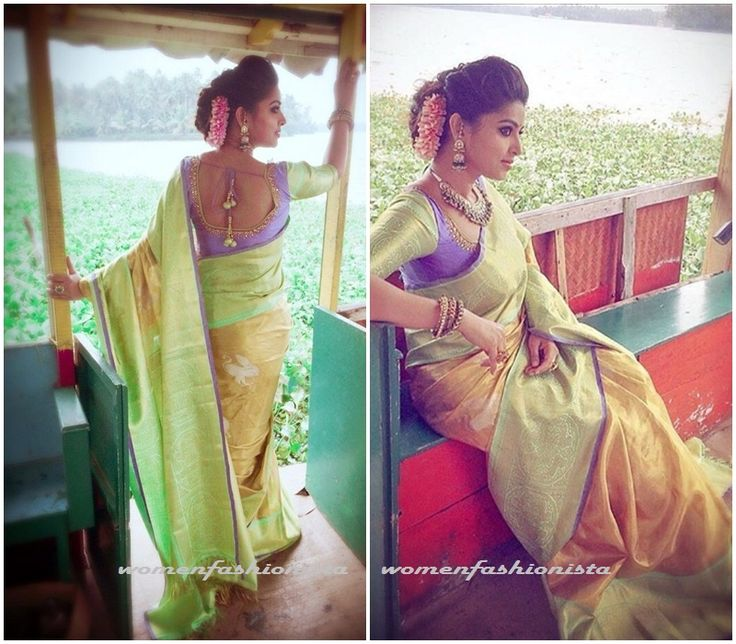 Sneha in kanjeevaram silk saree