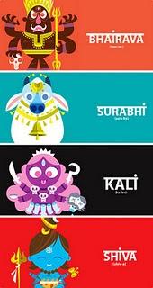 Sanjay Patel's Ramayana illustration