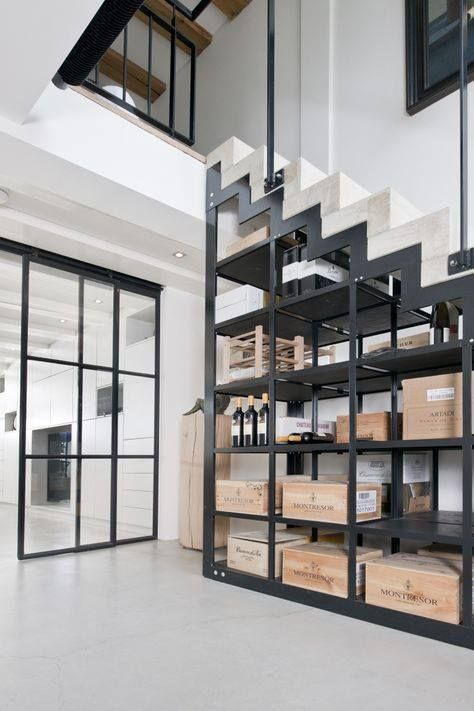 les dessous d 39 escalier ne sont pas synonyme de perte d 39 espace au contraire stairs. Black Bedroom Furniture Sets. Home Design Ideas
