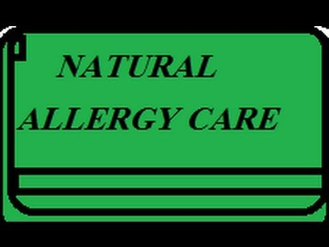 How to Care Allergy Naturally