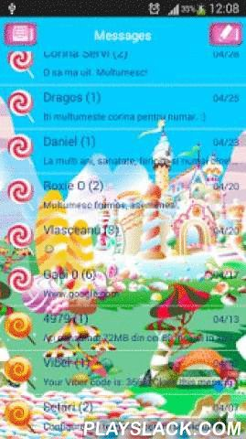 GO SMS Candy Land Theme  Android App - playslack.com , Match your desire to run away and live in a different world of wonder. Have an adventure right now and customize the appearance of your SMS layout with the new GO SMS Pro Candy Land theme and see how your smartphone or tablet will transform into a portal that will take you into the sweet world of infinite candy. Explore this new delicious world of wonders with the new GO SMS Pro Candy Land theme. DOWNLOAD it today, it's completely FREE…