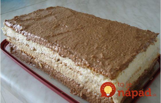 """15-minútová """"lenivá"""" torta: 3 krémy z jedinej várky!"""